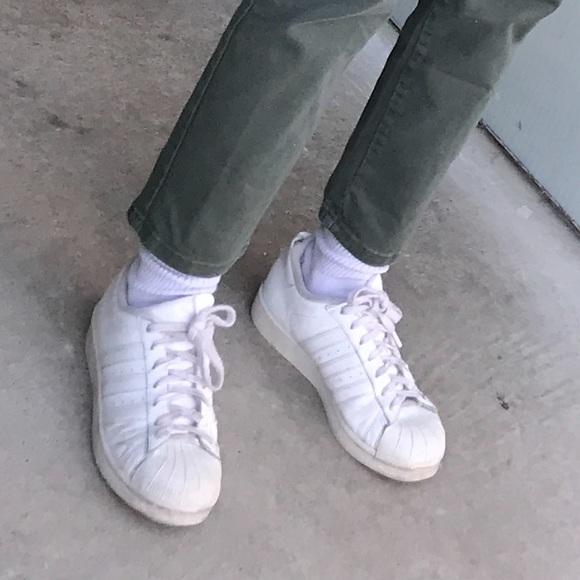 White Adidas Sneakers | Poshmark
